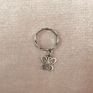 James Avery Butterfly Charm Ring